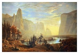 Yosemite Valley Prints by Albert Bierstadt