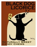 Black Dog Licorice Kunst van Ken Bailey