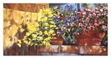 Wall Flowers Prints by Mary Schaefer
