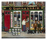 Irish Pub Poster by Suzanne Etienne