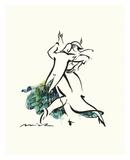 Tangoseligkeit Poster von Misha Lenn