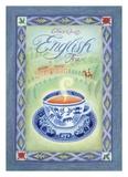 English Tea Prints by Sue Williams
