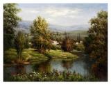 Villa at the River Bank Posters by  Hulsey
