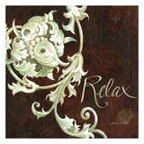 Relax Posters by Maria Woods