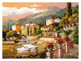Lakeside Opulence Print by Erin Dertner
