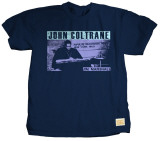John Coltrane - Playback T-shirts by Jim Marshall