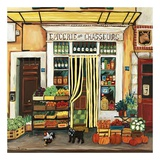 Gourment Specialties Print by Suzanne Etienne