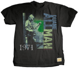 Duane Allman - Holiday Inn T-shirts by Jim Marshall
