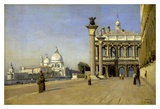 Morning in Venice Prints by  Corot
