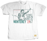 Jimi Hendrix - Monterey Pop T-shirts by Jim Marshall