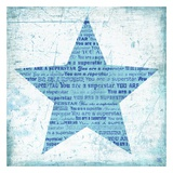 Superstar Blue Affiches par Suzanna Anna