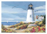 Lighthouse Harbor I Posters by Kathleen Denis