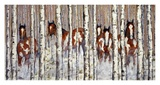 Among the Aspens Prints by John Saunders