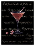 Peppermint Martini Prints by Janet Kruskamp