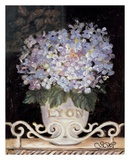 Hydrangeas of Lyon Poster by Shari White