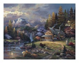 Mountain Hideaway Prints by James Lee