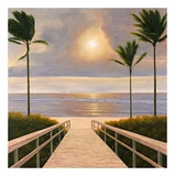 Palm Winds Prints by Diane Romanello