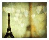 Paris is for Lovers Print by Irene Suchocki