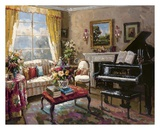 The Music Room Art by Foxwell