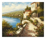 Villa del Mare Prints by  Lazzara