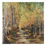 Path of Trees Art by Suzanne Etienne
