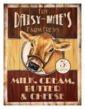 Daisy Mae's Farm Fresh Posters by Lesley Hallas