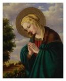 Madonna in Prayer Posters by Joe Ortiz