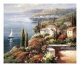 Paysage méditerranéen Affiches par Peter Bell