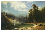 El monte Corcoran Láminas por Albert Bierstadt