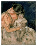 Mother and Child Prints by Mary Cassatt