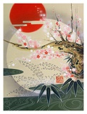 Rising Sun Poster by Zigen Tanabe