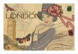 London Plakater af Maria Woods