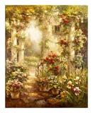 Gardenside View Print by Brad Shaw