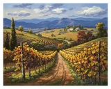 Vineyard Hill II Posters by Sung Kim