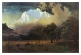 Mount Adams, Washington Poster by Albert Bierstadt
