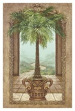Classical Palm Tree Posters by Janet Kruskamp