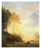 Merced River in Yosemite Prints by Albert Bierstadt