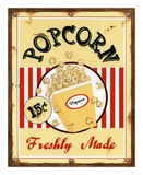 Popcorn Freshly Made Posters by Lesley Hallas