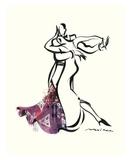 Tango Leidenschaft Kunstdrucke von Misha Lenn