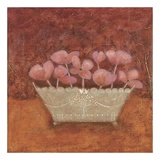 Tuscan Bowl with Flowers II Prints by Jennifer Carson