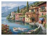 Villagio Dal Lago Affiches par Sung Kim