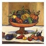 Coco's Pedastal Bowl Affiches par Suzanne Etienne