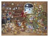 Conto alla rovescia a Natale Arte di Janet Kruskamp