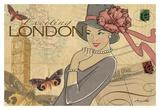 London Posters af Maria Woods