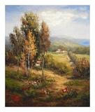 Valle Salerno Prints by  Hulsey