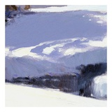 Beautiful Winter (detail no. 3) Print by Kent Wallis