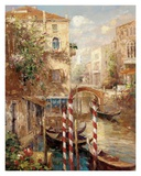 Venice Canal I Prints by Peter Bell