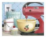 Retro Baking Láminas por Anna Bailey