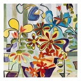 Happy Snappy Garden Prints by Joan Elan Davis