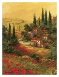 Toscano Valley I Poster by Art Fronckowiak